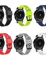 abordables -bracelet de montre pour samsung galaxy watch 46mm / samsung galaxy watch 42mm samsung galaxy sport band / boucle classique silicone bracelet