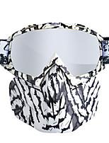 Недорогие -мужчины женщины лыжи сноуборд очки снегоходы снег зима ветрозащитные лыжные очки с маской