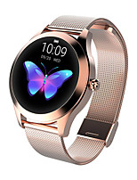 Недорогие -умные часы kw10 bt фитнес-трекер поддержка уведомлений / монитор сердечного ритма спорт из нержавеющей стали Bluetooth-совместимые SmartWatch IOS / Android телефоны
