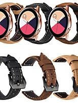 Недорогие -ремешок на запястье из натуральной кожи в стиле ретро, ремешок на запястье, часы для Samsung, часы galaxy active / часы galaxy 42 мм / gear sport / gear s2 classic smart watch