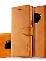 Недорогие -Кейс для Назначение Xiaomi Redmi Note 5A / Xiaomi Redmi Note 5 Pro / Xiaomi Redmi Примечание 5 Защита от удара / Защита от пыли / Флип Чехол Однотонный Мягкий Кожа PU / ТПУ