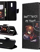 Недорогие -Кейс для Назначение LG LG V30 / LG V20 / LG Stylo 4 Кошелек / Защита от удара / со стендом Чехол Слова / выражения Твердый Кожа PU / LG G6