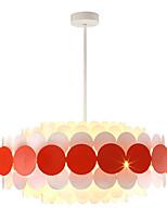 Недорогие -ZHISHU 7-Light Спутник / промышленные Люстры и лампы Рассеянное освещение Окрашенные отделки Металл Новый дизайн, Управление WIFI 110-120Вольт / 220-240Вольт Теплый белый / Белый / Wi-Fi Smart