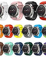 Недорогие -Ремешок для часов для Fenix Chronos Garmin Спортивный ремешок / Классическая застежка силиконовый Повязка на запястье