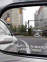 Недорогие -2шт объекты в зеркале теряют смешные окна автомобиля наклейка наклейка тюнер мод