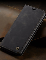 cheap -CaseMe New Business Leather Magnetic Flip Case For Samsung Galaxy S10 5G / S10e With Wallet Card Slot Stand Case Cover