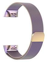 Недорогие -ремешок для часов для зарядки fitbit 3 / зарядки fitbit 4 fitbit миланский петлевый ремешок из нержавеющей стали