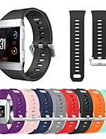 Недорогие -Спортивный силиконовый ремешок для часов браслет ремешок на запястье для fitbit ионных смарт-часы