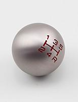 Недорогие -профессиональный чпу алюминиевый 5/6 скорость шариковая форма переключения передач ручка для Honda