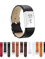 Недорогие -ремешок для часов для FitBit заряда 2 FitBit спортивный ремешок из натуральной кожи браслет