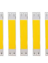 Недорогие -Светодиодная лампа источник бисера теплый белый белый свет 9 В 5 Вт початка лампы шарик источник освещения 100 мм * 20 мм аксессуары для освещения