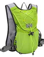 Недорогие -12 L Рюкзаки Легкость Дышащий Быстровысыхающий Офис На открытом воздухе Рыбалка Пешеходный туризм Велосипедный спорт / Велоспорт Нейлон Пурпурный Зеленый Синий
