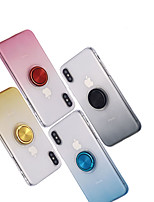 Недорогие -чехол для apple iphone xs / iphone xs max ультратонкая задняя крышка цветовой градиент жесткий пластик для iphone 7 / iphone 7 plus / iphone 8 / iphone 8 plus / iphone x / iphone xr / iphone xs /