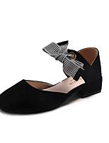 Недорогие -Жен. Обувь на каблуках На низком каблуке Квадратный носок Полиуретан Милая Лето Черный / Бежевый / Коричневый