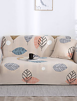 cheap -Leaf Print Dustproof All-powerful Slipcovers Stretch Sofa Cover Super Soft Fabric Couch Cover with One Free Pillow Case
