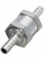 Недорогие -автомобильный алюминиевый сплав дроссельной заслонки один обратный клапан бензин дизельное топливо обратный клапан калибра 12 мм