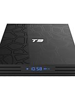 Недорогие -t9 TV Box Android 8.1 4 ГБ 32 ГБ 64 ГБ Smart TV Rockchip RK3328 1080 P h.265 4K Google Play Netflix YouTube медиаплеер