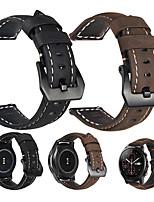 Недорогие -браслет из натуральной кожи с ремешком на запястье для часов xiaomi huami amazfit stratos 2 / 2s / huami amazfit a1602 / huami amazfit pace smart watch