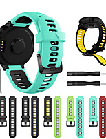 Недорогие -Ремешок для часов для Forerunner 735 / Forerunner 630 / Forerunner 620 Garmin Спортивный ремешок / Классическая застежка / Инструменты сделай-сам силиконовый Повязка на запястье
