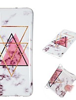 cheap -Case For Samsung Galaxy A6 (2018) / A6+ (2018) / Galaxy A7(2018) Shockproof / IMD / Pattern Back Cover Marble Soft TPU