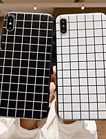 Недорогие -чехол для яблока iphone xr / iphone xs max рисунок задняя крышка геометрический рисунок мягкий тпу для iphone x xs 8 8plus 7 7plus 6 6plus 6s 6s plus