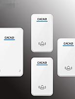 Недорогие -дверной звонок беспроводной бытовой аккумулятор постоянного тока универсальный аккумулятор отключен беспроводной дверной звонок три перетащите один водонепроницаемый