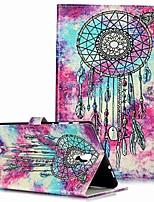 Недорогие -Кейс для Назначение SSamsung Galaxy Tab S4 10.5 (2018) / Tab A2 10.5(2018) T595 T590 / Samsung Tab S5e T720 10,5 Кошелек / Бумажник для карт / со стендом Чехол Бабочка Твердый Кожа PU