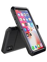 Недорогие -чехол для яблока iphone xs max ударопрочный / пыленепроницаемый / водостойкий чехол для всего тела броня из закаленного стекла / силикагель / металл для iphone xs max
