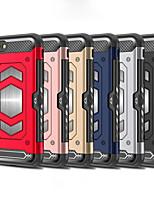 Недорогие -Кейс для Назначение Apple iPhone XS / iPhone XR / iPhone XS Max Защита от удара Кейс на заднюю панель Однотонный Твердый ПК