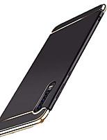 Недорогие -Кейс для Назначение Huawei Huawei P20 / Huawei P20 Pro / Huawei P20 lite Покрытие Кейс на заднюю панель Однотонный Твердый ПК