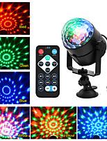Недорогие -KWB 1 комплект 6 W 4000-5000 lm 5 Светодиодные бусины Пульт управления Диммируемая обожаемый Светодиодные театральные лампы RGB 100-240 V