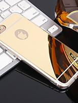 Недорогие -Кейс для Назначение Apple iPhone XS / iPhone XR / iPhone XS Max Зеркальная поверхность Кейс на заднюю панель Однотонный Мягкий ТПУ