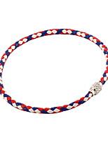 Недорогие -Жен. Ожерелья-обручи Хром Красный 40 cm Ожерелье Бижутерия 1шт Назначение фестиваль