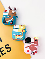 cheap -AirPods Case Cartoons Silicone Soft  Lovely Pattern  Portable For AirPods1 &amp AirPods2 (AirPods Charging Case Not Included)