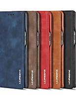 Недорогие -Роскошный магнитный аттракцион откидная крышка чехол для Samsung Galaxy Note 8 Note 9 бизнес кобура ретро кожаный чехол простой