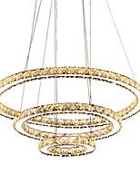 Недорогие -Модные современные новейшие светодиодные хрустальные подвесные светильники потолочные люстры светильники подвесные светильники для столовой гостиной отеля дома 110-120 В / 220-240 В