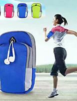 Недорогие -нейлоновый чехол для универсального держателя карты / спортивная повязка повязка однотонная мягкая тренировка
