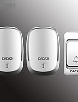 Недорогие -беспроводной дверной звонок домой новый один на два дистанционного управления старый пейджер умный дверной звонок
