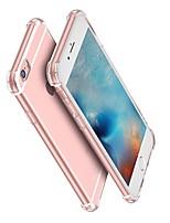 Недорогие -Кейс для Назначение Apple iPhone XS / iPhone XR / iPhone XS Max Защита от удара / Прозрачный Кейс на заднюю панель Прозрачный Мягкий ТПУ