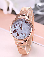cheap -Women's Quartz Watches Fashion Silver Gold Rose Gold Alloy Chinese Quartz Rose Gold Gold Silver Cute Casual Watch 1 pc Analog - Digital One Year Battery Life