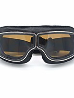 Недорогие -Муж. Очки для мотоциклов Ретро С защитой от ветра / Защитные маски Искусственная кожа / Полиуретановая кожа