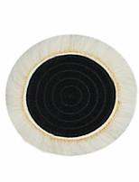Недорогие -1шт шерсть шлифовка колодки воска полировки буфера автомобильный полировщик мяч комплект с волшебной наклейкой для полировки крема