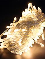 Недорогие -10 м Гирлянды 100 светодиоды Тёплый белый / RGB / Белый Водонепроницаемый / Творчество / Для вечеринок 220-240 V / 110-120 V 5 шт.