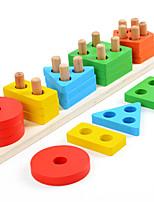 Недорогие -Конструкторы 1 pcs Креатив совместимый Legoing Геометрический узор Взаимодействие родителей и детей Все Игрушки Подарок