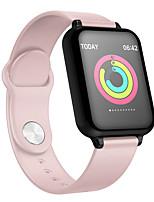 Недорогие -St57 умный браслет 1.3 дюймовый цветной экран монитор артериального давления сердечного ритма ip67 водонепроницаемый спортивные часы ремешок