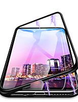 Недорогие -Кейс для Назначение SSamsung Galaxy Galaxy S10 Plus Защита от пыли / Защита от влаги Чехол Однотонный Твердый Закаленное стекло