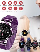 Недорогие -St01 умные часы женщины мода монитор сердечного ритма smartwatch леди фитнес-браслет шагомер красивая удобная одежда