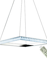 Недорогие -квадратный круг хрустальные люстры современная столовая лампа подвесной светильник подвесные светильники лампы освещения потолочные светильники комнатные светильники 110-120 В / 220-240 В