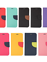 Недорогие -чехол для яблока iphone xs max / iphone 8 plus противоударный / задняя крышка кошелька однотонная твердая кожа pu для iphone 7/7 plus / 8/6/6 plus / xr / x / xs