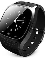 Недорогие -Муж. Смарт Часы Цифровой Современный Спортивные силиконовый 30 m Защита от влаги Bluetooth Smart Цифровой На открытом воздухе Мода - Черный Белый Синий